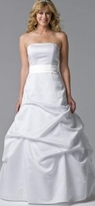 David's Bridal Ball Gown
